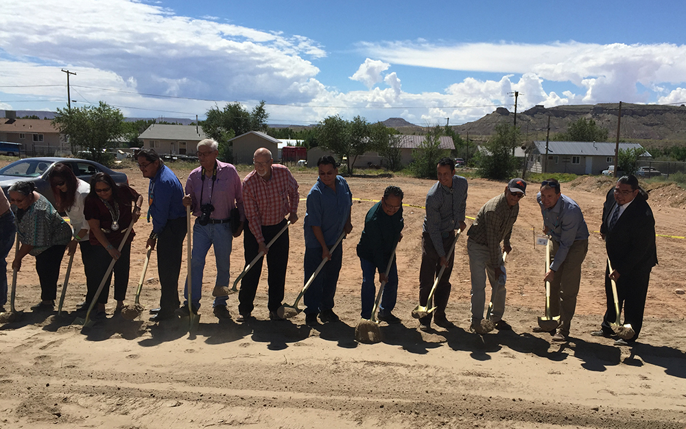Montezuma Creek Health Center Ground Breaking Ceremony