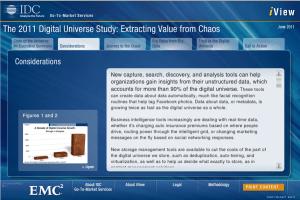 IDC 2011 Digital Universe Study