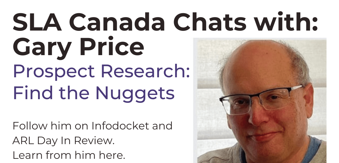 Gary Price: Recording of Prospect Research session