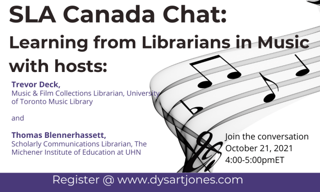 SLACANADA CHAT: Learning From Librarians in Music