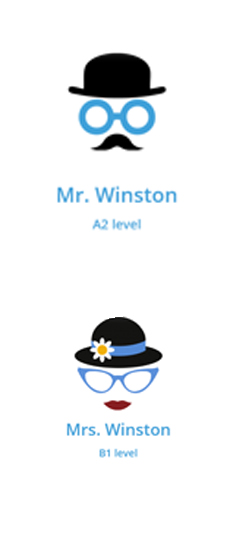 M. & Mrs Winston