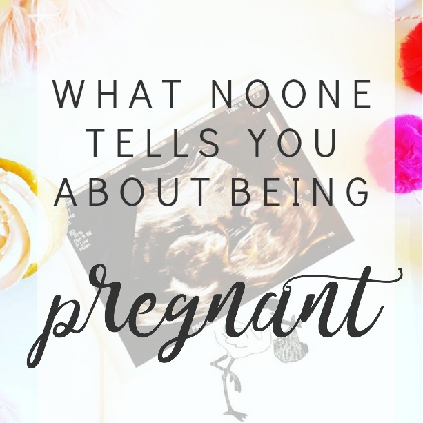 What no one tells you about being pregnant Image