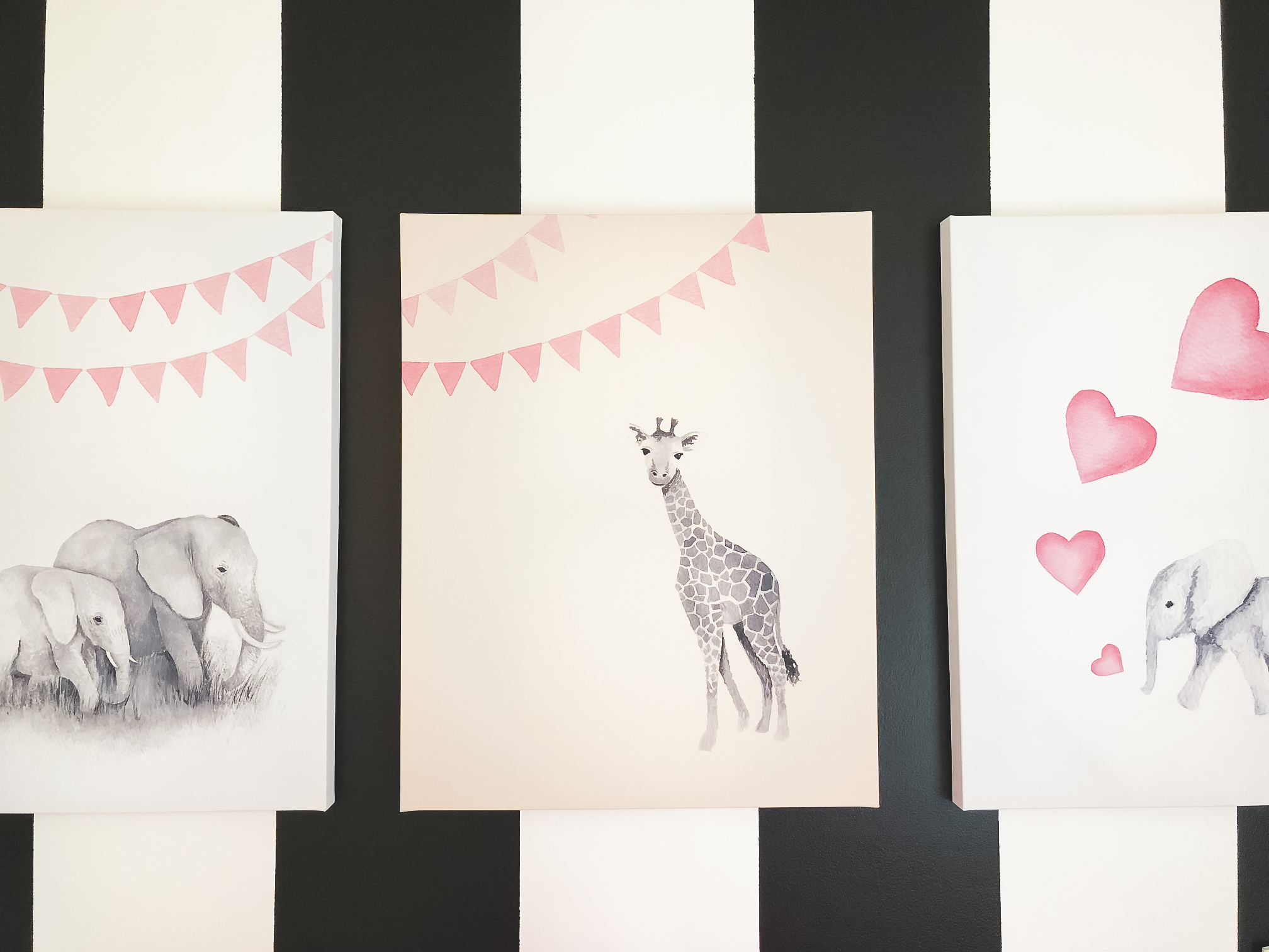 Baby Room Canvas Pics