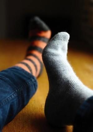 chaussettes différentes
