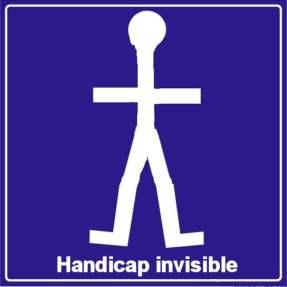 handicap invisible et étudiant