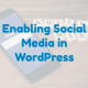 Enabling Social Media in WordPress (in 5 minutes)