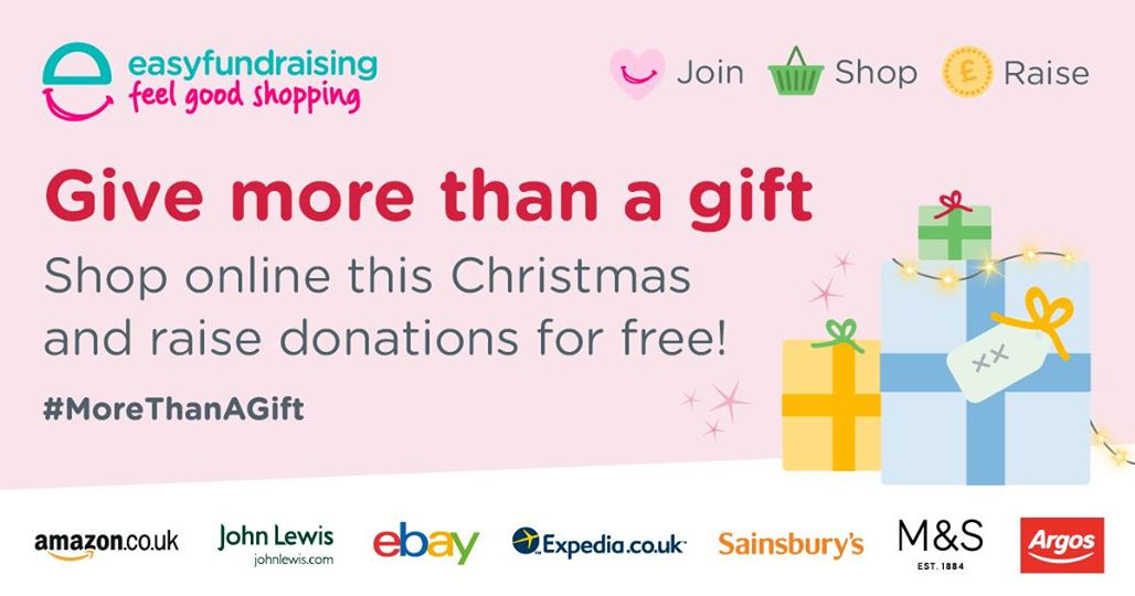 Donate to the Dyspraxia Foundation for free whilst doing your everyday online shopping!