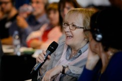 Anna Moiana, delegate of ARD, the Italian Dystonia Association.