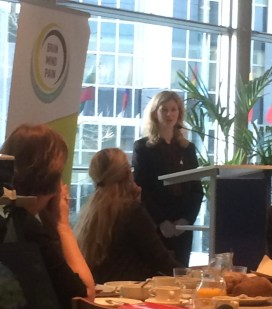 Jane Whelan from the European Headache Alliance shared her very personal story: