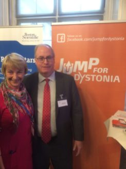 Monika Benson with Michael Phalen Boston Scientific
