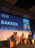 Natasha is the Bakken Award winner 2016.
