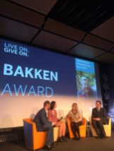 Natasha is the Bakken Award winner 2016.