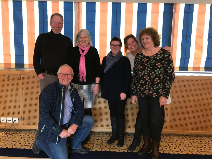 The Board of the Norwegian Dystonia Association.