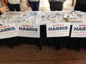 Kamala Harris table.