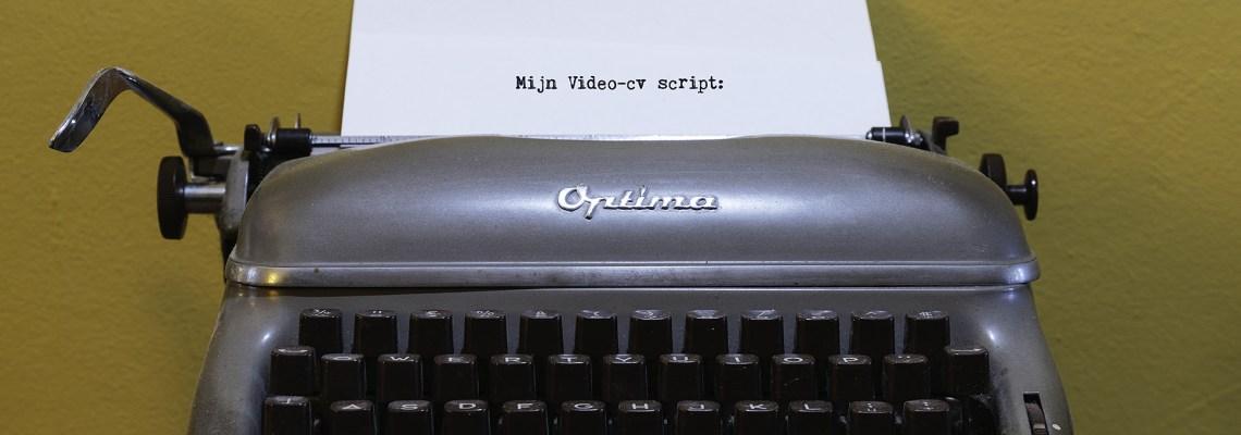 Mijn video-cv script