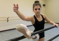 Дівчина стала балериною попри ампутовану ногу