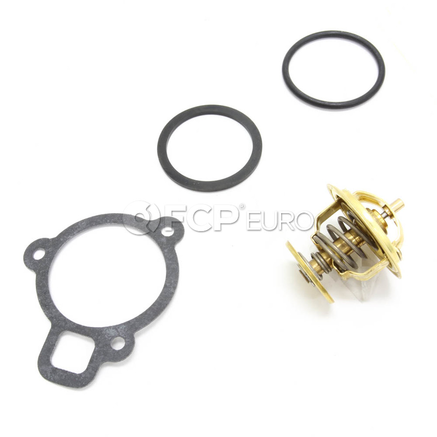 medium resolution of audi vw engine coolant thermostat jetta beetle golf borg warner wahler 056121113d