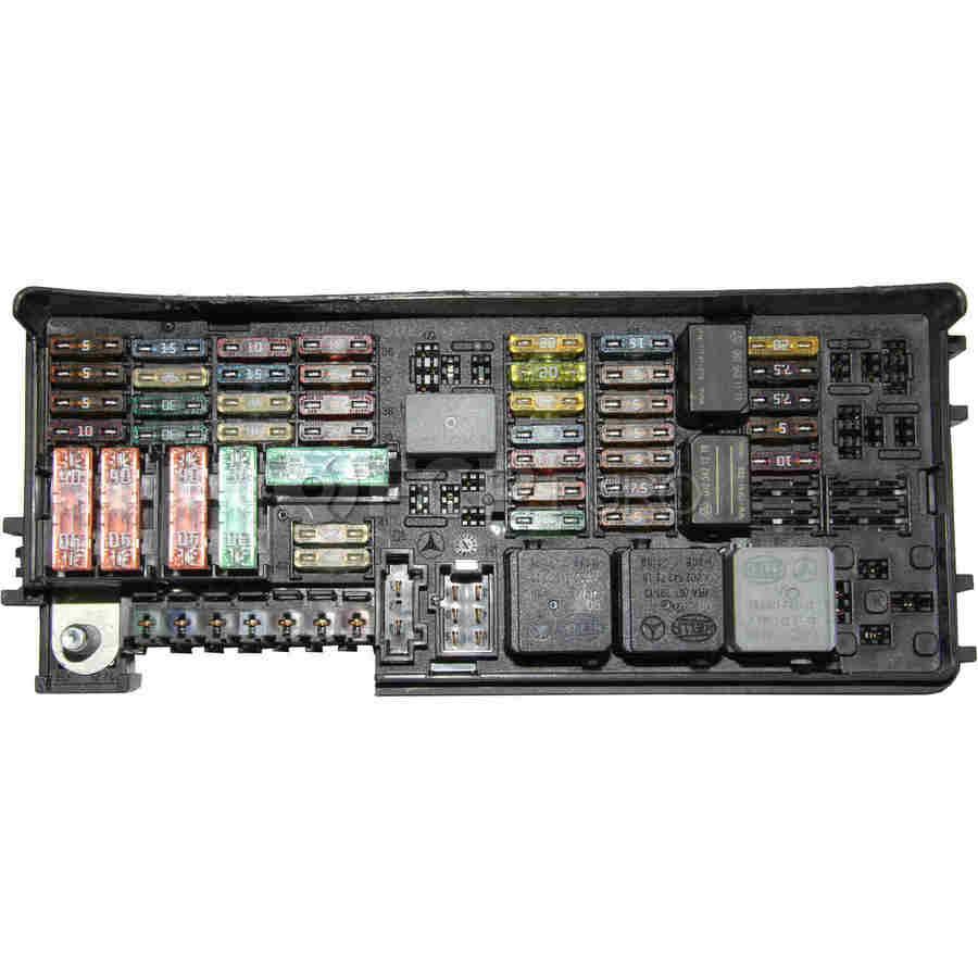 mercedes fuse box rear genuine mercedes 1645403072 [ 900 x 900 Pixel ]