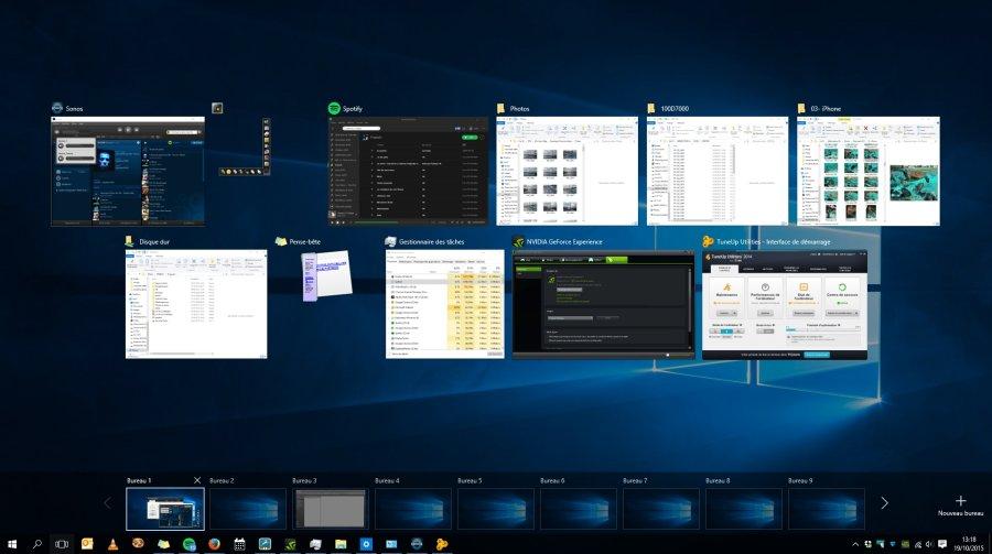 Windows 10 Grer Les Bureaux Virtuels Les Numriques