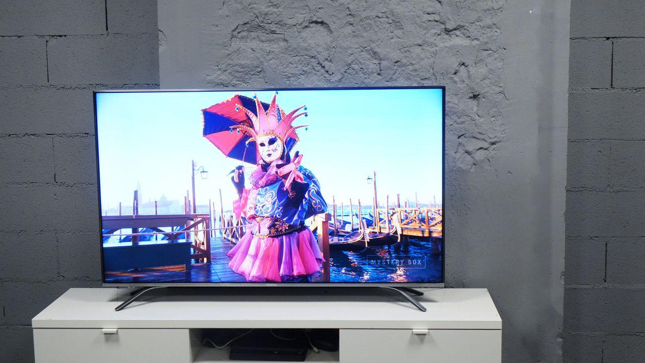 test hisense h55a6500 un televiseur