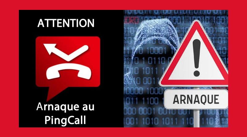 pingcall_arnaque_mobile_appel_international