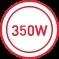350 W