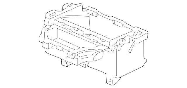 2000-2009 Honda S2000 COUPE Box, Rear Console *NH167L