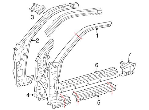Genuine OEM ROCKER Parts for 2002 Toyota Celica GT