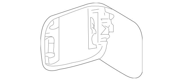 Genuine OEM Fuel Door Part# MR954514 Fits 2003-2006