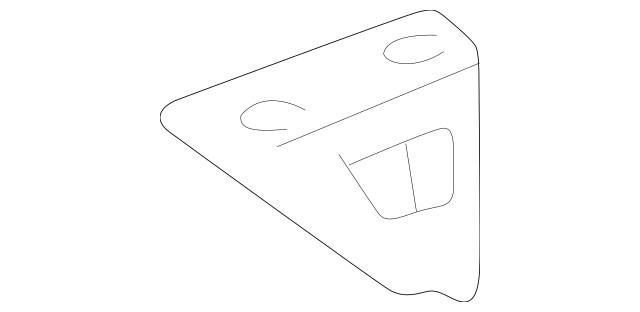 1991-1994 Acura NSX COUPE Bracket B, Expansion Tank 19114