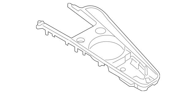 2016-2018 Audi TT Quattro Center Panel 8S1-864-261-J-NM5
