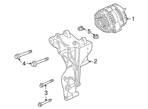Alternator/Generator & Related Components for 2006 Hummer