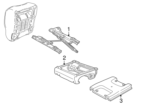 Tracks & Components for 1997 Ford E-150 Econoline Club