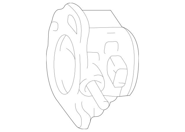 Genuine OEM Throttle Body Part# 6F9Z-9E926-A Fits 2004