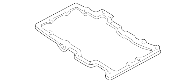 Genuine OEM Mazda Oil Pan Gasket Part# ZZC1-10-431 Fits