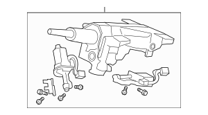 2009-2012 Acura RL SEDAN Column Sub-Assembly, Steering