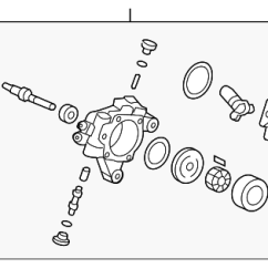 Honda Power Steering Diagram 7 Way Plug Wiring Genuine Pump 06561 Rta 505rm Ebay Details About