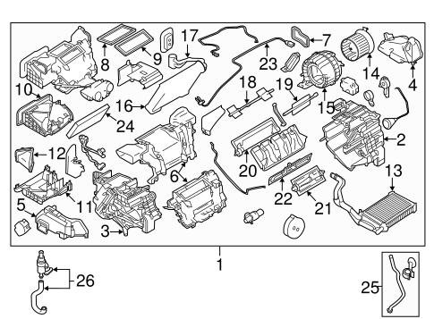 Condenser, Compressor & Lines for 2011 Nissan Juke