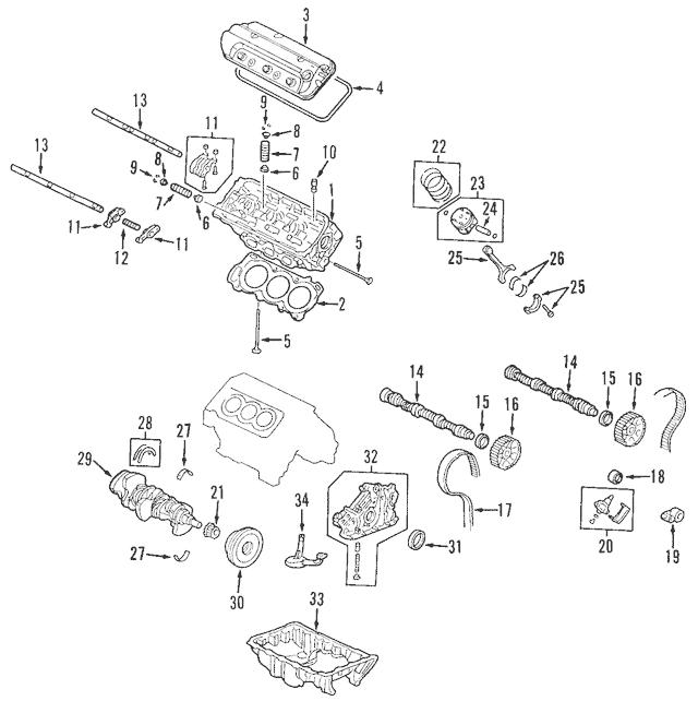 Discount Genuine OEM 1998-2004 Honda Pulley, Timing Belt