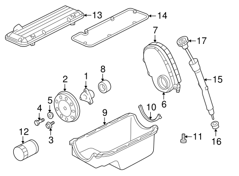 ENGINE PARTS for 1999 Chevrolet S10