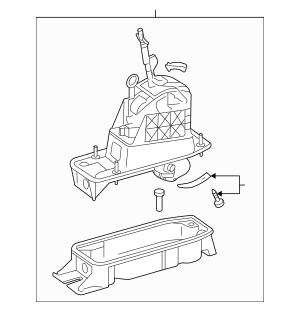 2007-2010 Volkswagen Jetta Shifter Assembly 1K1-713-025-AA
