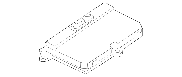 Genuine Control Module for 2000-2010 BMW Part# 63-12-7-176