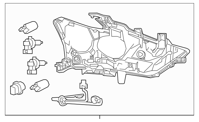 2016-2018 Nissan Maxima Composite Assembly 26010-4RF4B