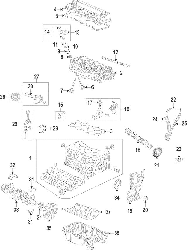 2016-2017 Honda HR-V 5-DOOR Pan Assembly, Oil 11200-51B