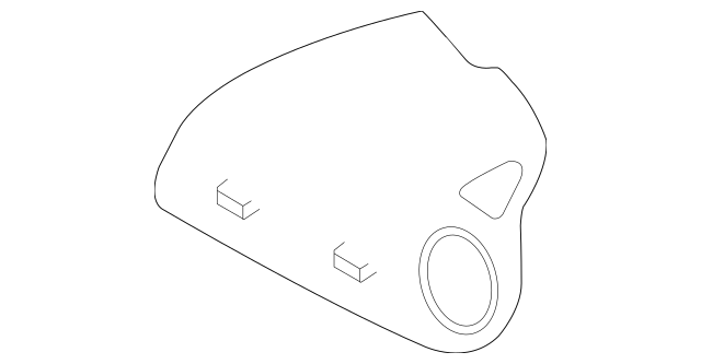 2004-2006 Mazda RX-8 Passenger Inflator Module FEZ2-57-K70