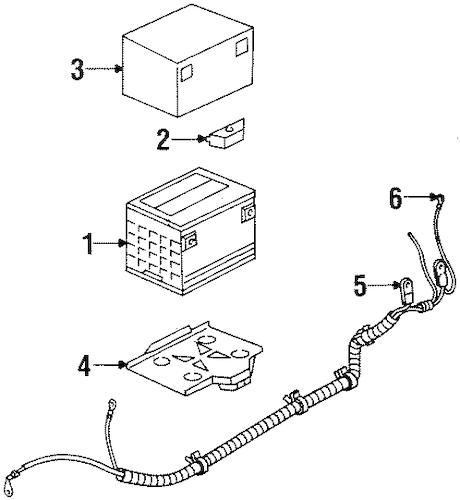 Battery for 2003 Oldsmobile Silhouette