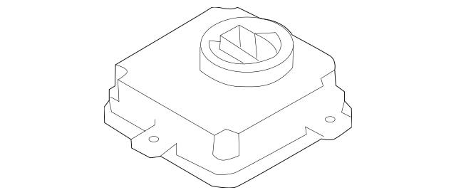 OEM Audi Control Module Part# 4G0-907-697-F Fits 2012-2019