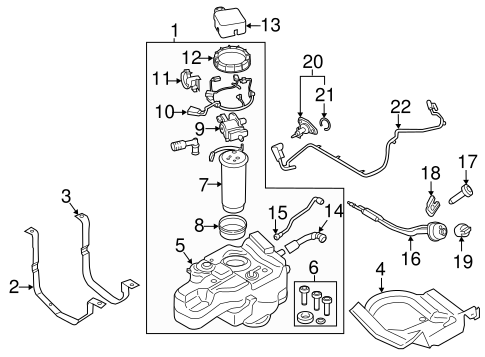 Emission Components for 2015 Ford Transit-350 HD