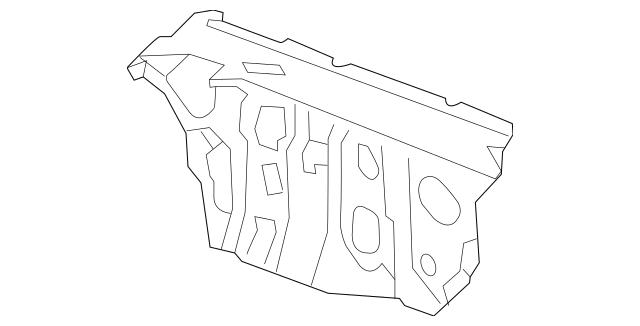 2015-2016 Acura MDX 5-DOOR Insulator, Dashboard (Lower