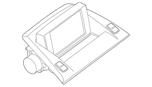 Genuine OEM Display Unit Part# 65-50-3-452-285 Fits 2004